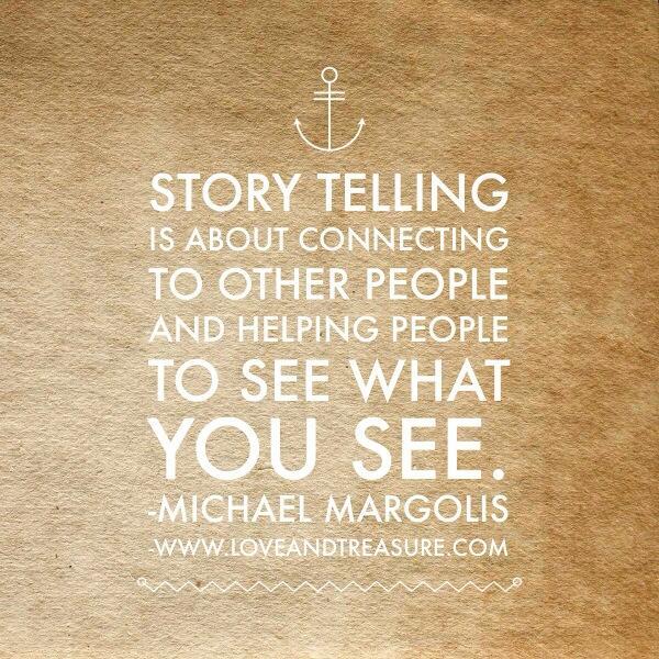 storytelling hoe werkt dat quote micheal margolis