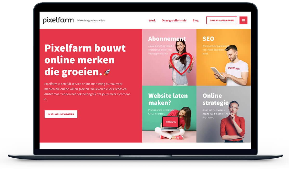 WordPress CMS Pixelfarm