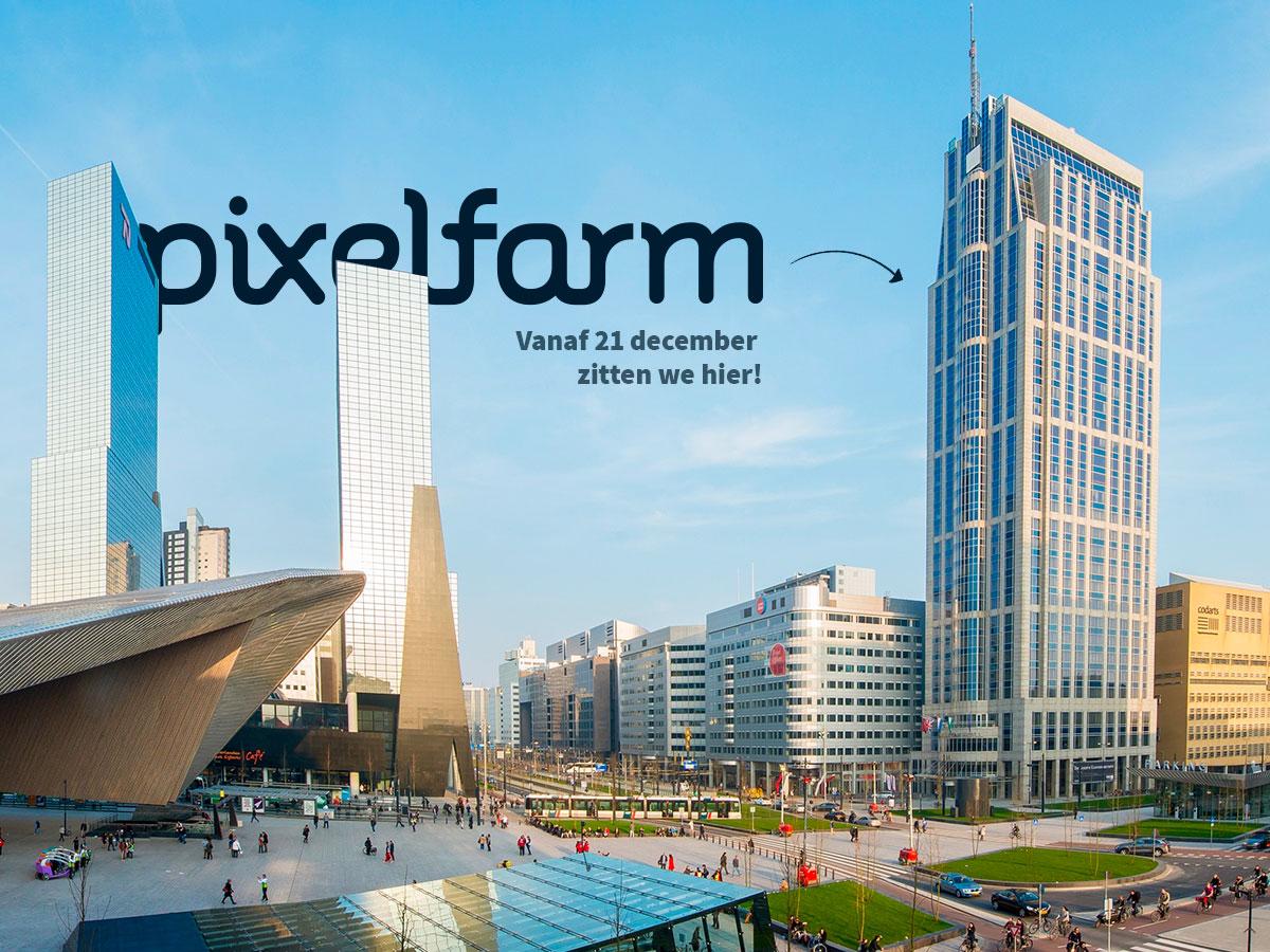 Nieuwe locatie Rotterdam