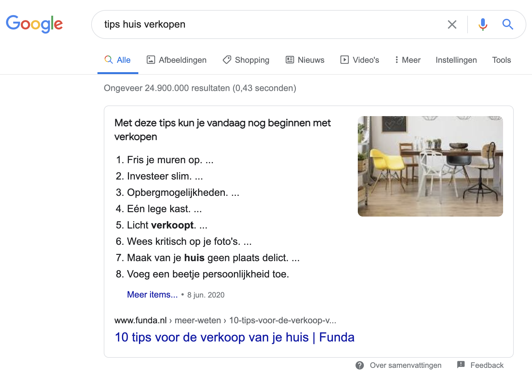 Zero click searches zorgt voor minder websitebezoekers